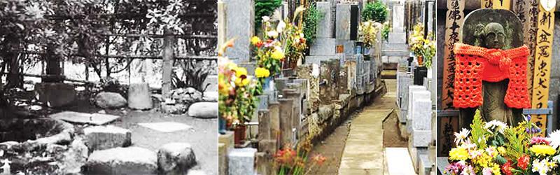 旧境内、畜類之墓(犬墓)