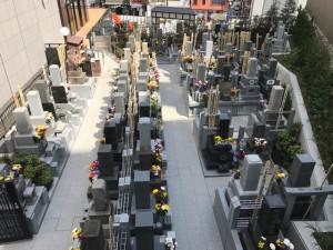 威徳寺上段墓地